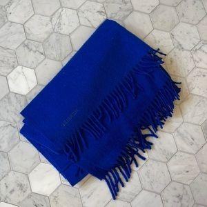 Hermès Royal Blue Large Wrap Scarf